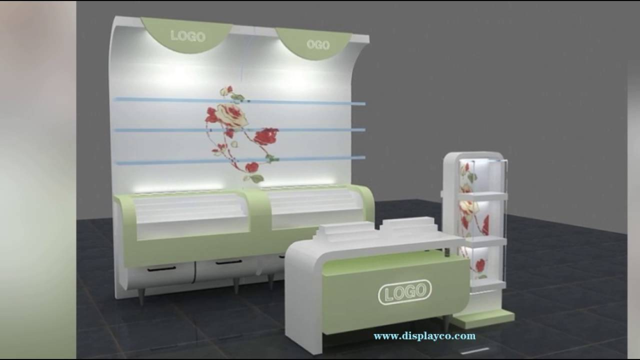 Kubik Exhibition Stand View : Custom made displays cosmetic display shelf new design