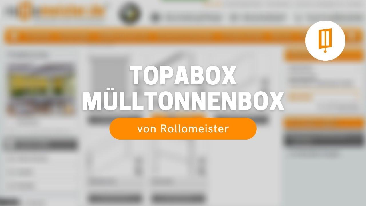 topabox mülltonnenbox - neue, innovative mülltonnenverkleidung von