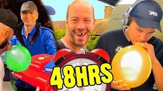 48 HOUR HELIUM CHALLENGE!!!