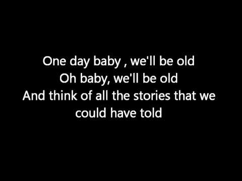 One Day Lyrics Asaf Avidan
