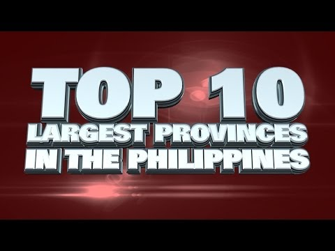 Top 10 Largest Provinces in the Philippines