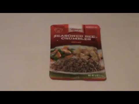 Libbys Seasoned Beef Crumbles for Prepping and Survival