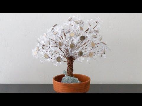geld bonsai als geldgeschenk f r hochzeit geburtstag weihnachten youtube. Black Bedroom Furniture Sets. Home Design Ideas