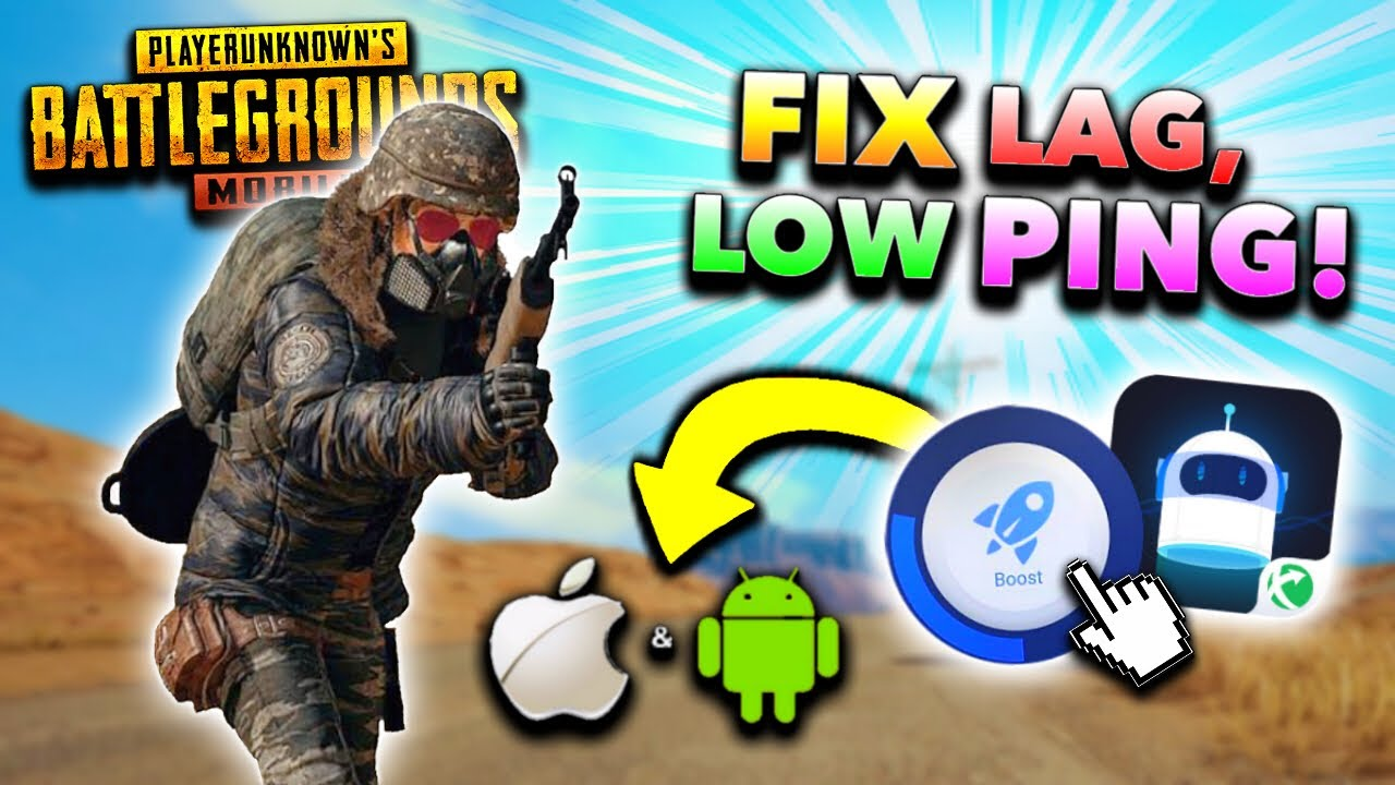 BEST FIX LAG GFX TOOL for PUBG Mobile! LOW PING + 60fps EXTREME Graphics on  iOS/Android! (NO BAN)