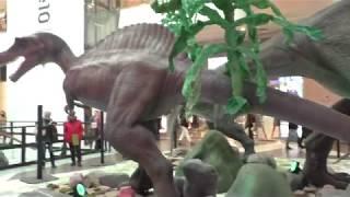 ''Динозавра не кормить!''. Выставка ''Миллион лет до нашей эры'' в ТЦ ''Галерея'', Санкт-Петербург