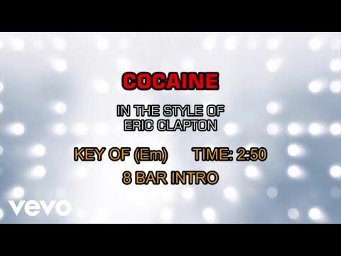 Eric Clapton - Cocaine (Karaoke)