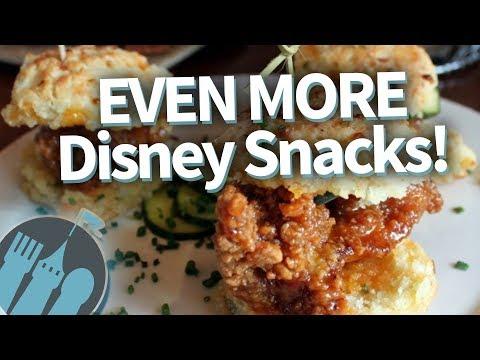 MUST-EAT Disney World Snacks, PART 3!