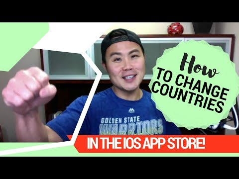 How to Change Countries in the iOS App Store