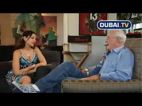 Janeen Mansour host of Dubai.TV interviews Jerry Weintraub