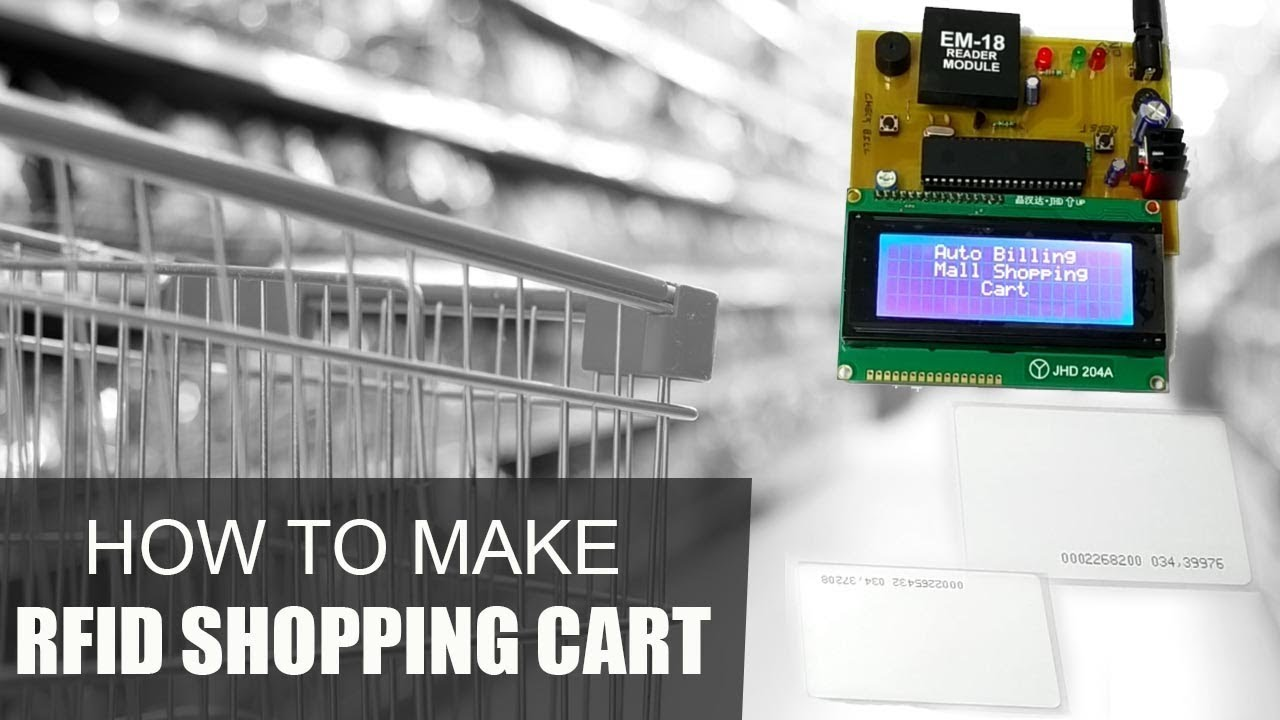 rfid shopping cart project report