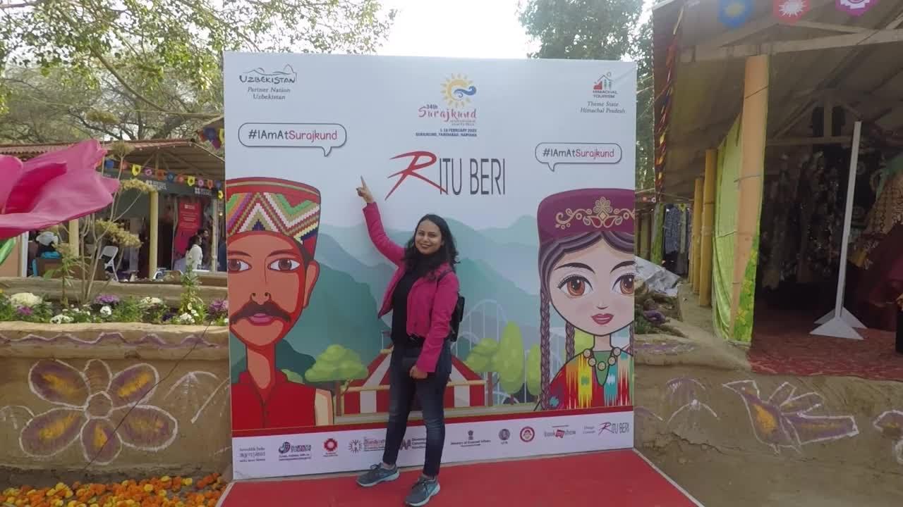 SurajKund mela 2020 | late post | Himachal pradesh theme state | fun food and  dance