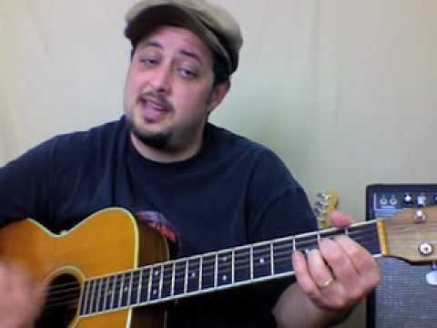 Learn How To Play Easy Beginner Country Songs on Acoustic Guitar - Willie Nelson - On the Road Again