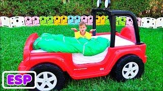Vlad y Nikita y la magia transforman Toy Cars