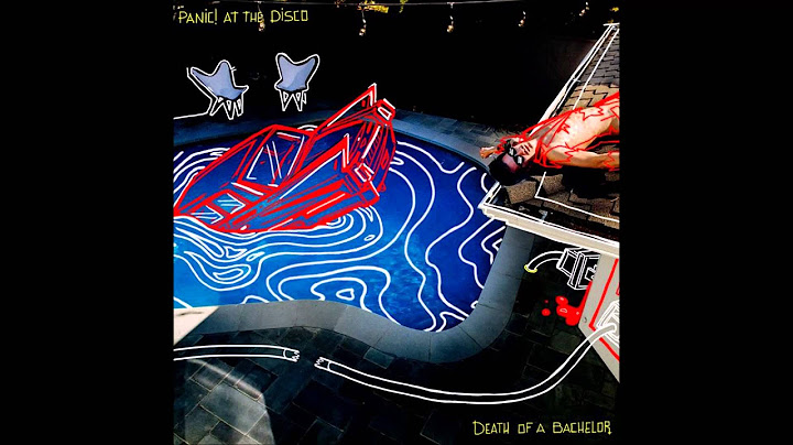 death of a bachelor  panic at the disco audio