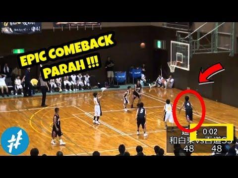 DRAMATIS! Tim Sekolah Basket Di JEPANG Berbalik Unggul Dalam Waktu 3 DETIK