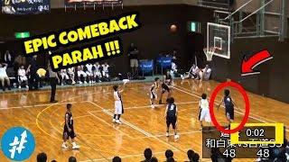 Download Video DRAMATIS! Tim Sekolah Basket Di JEPANG Berbalik Unggul Dalam Waktu 3 DETIK MP3 3GP MP4