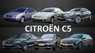 Citroën C5 Evolution | From 2001 to 2021
