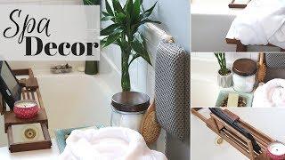 Diy Spa Decor Ideas | Turn Your Bathroom Into A Spa | Zen Spa Bathroom Makeover