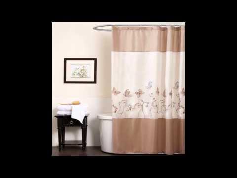 Shower curtains: 30 ideas for your bathroom