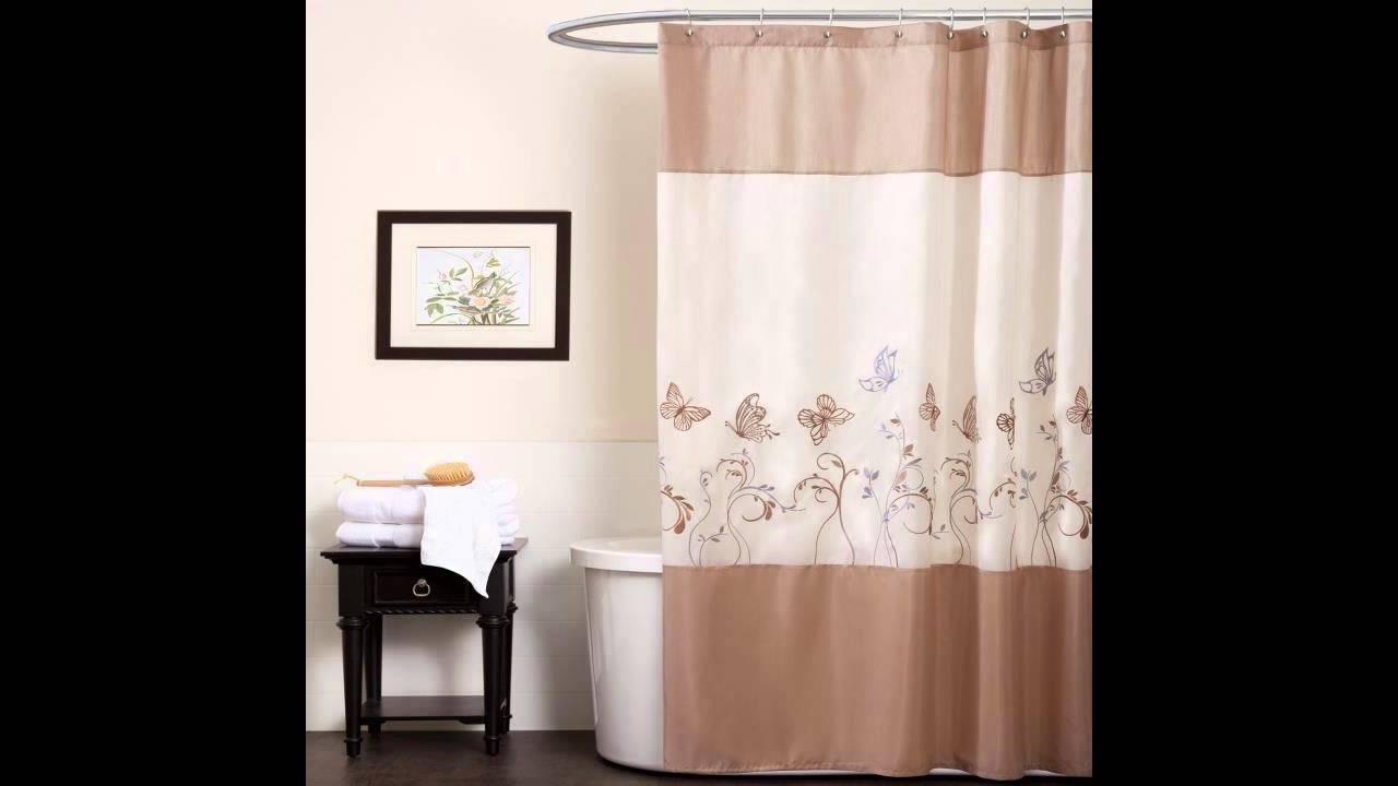 Shower curtains: 30 ideas for your bathroom - YouTube