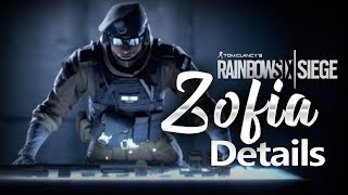 EXCLUSIVE ZOFIA Gameplay & Breakdown - Rainbow Six Siege