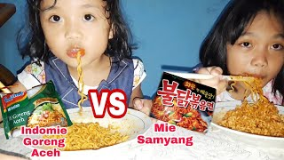 Mie Samyang Vs Indomie Goreng Aceh