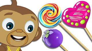 Mango's Treat Time: Colorful Lollipops Are All He Wants! | Hooplakidz thumbnail