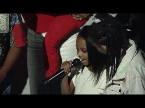 DMX'S DAUGHTER RAPS OWN VERSION OF HIS SONG 'SLIPPIN' AT HIS MEMORIAL