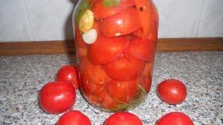 Консервированные помидоры в желе, простые рецепты