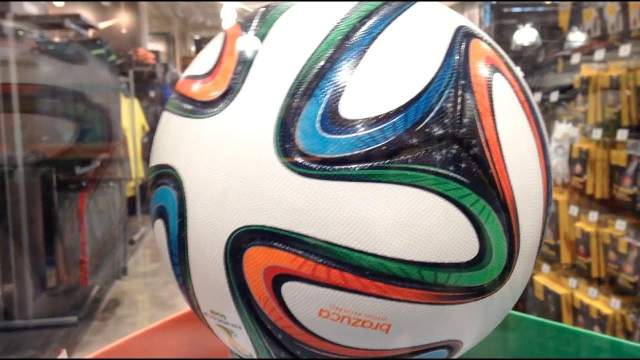 ff41054867309 Adidas Brazuca Football Brazil 2014 FIFA World Cup Soccer Ball - YouTube