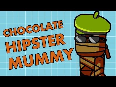 Scribblenauts Chocolate Hipster Mummy (EP05) (Nintendo Wii U) - Guys VS Games