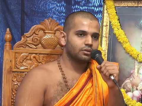 Upanyasa by Sri vishvavallabha teertha of Sode Vadiraja Mutt