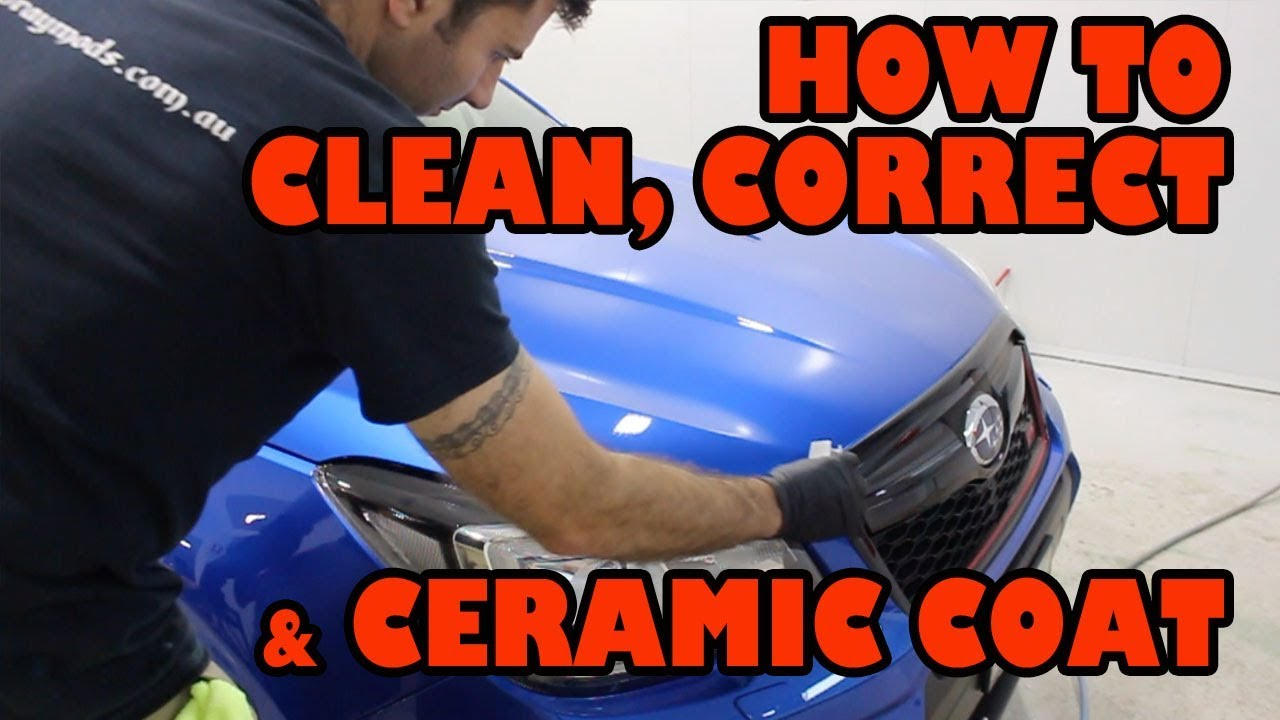 How To Apply Ceramic Coating Step By Step