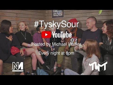 #TyskySour at The World Transformed 2018