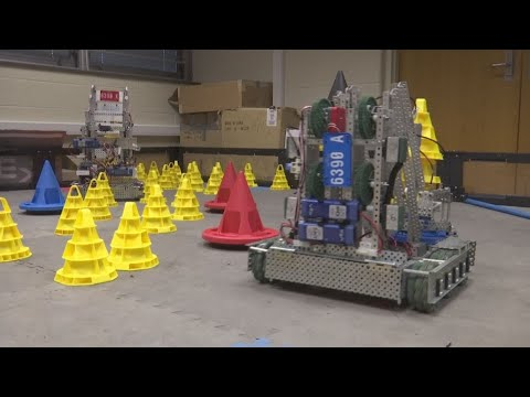 Local middle school sends to teams to robotics world championships