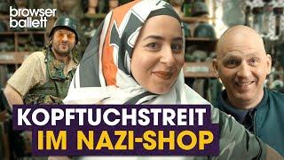 Kopftuchstreit im Nazi-Shop