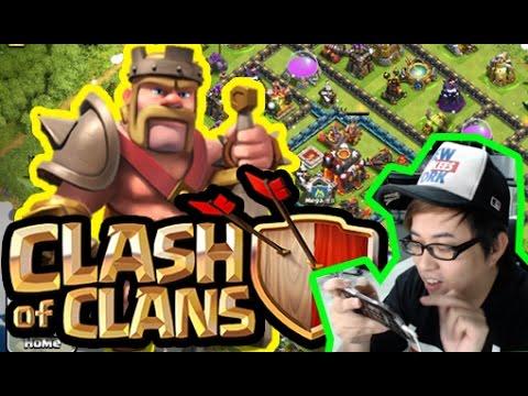 『 Clash Of Clans│部落衝突 』想搵個肥羊都咁難咩!!!!