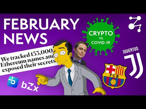 Crypto Gets Pummelled By COVID-19, Coinbase Joins VISA // Feb 2020   Blockchain Central