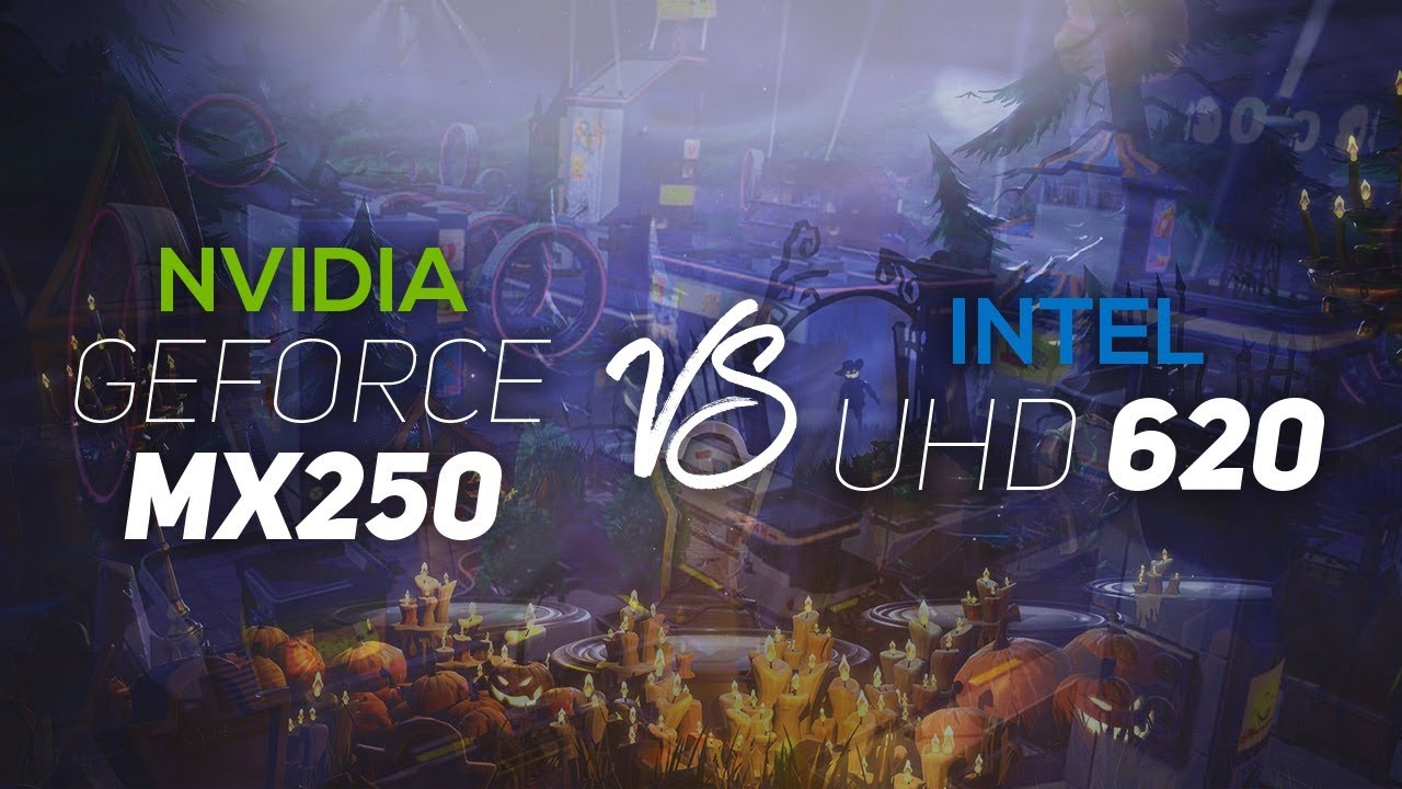 NVIDIA Geforce MX250 VS Intel UHD 620 2019!