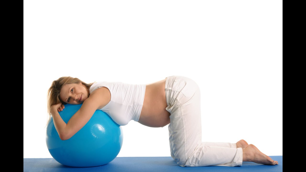 Exercise Ball To Induce Labor Moms Guide Youtube