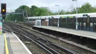 Trains on Brighton Main Line