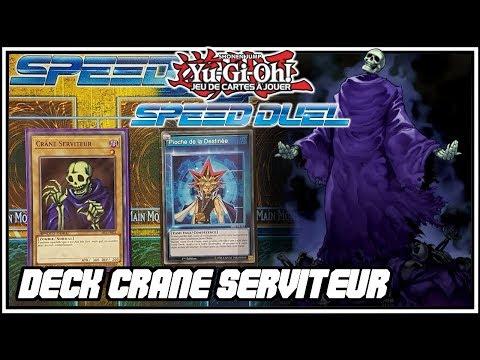 Deck Crane Serviteur | Yu-Gi-Oh Speed Duel FR