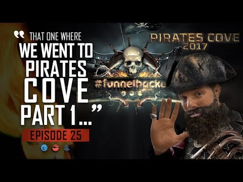 Pirates Cove Mastermind (Part 1)  Funnel Hacker TV Episode 25