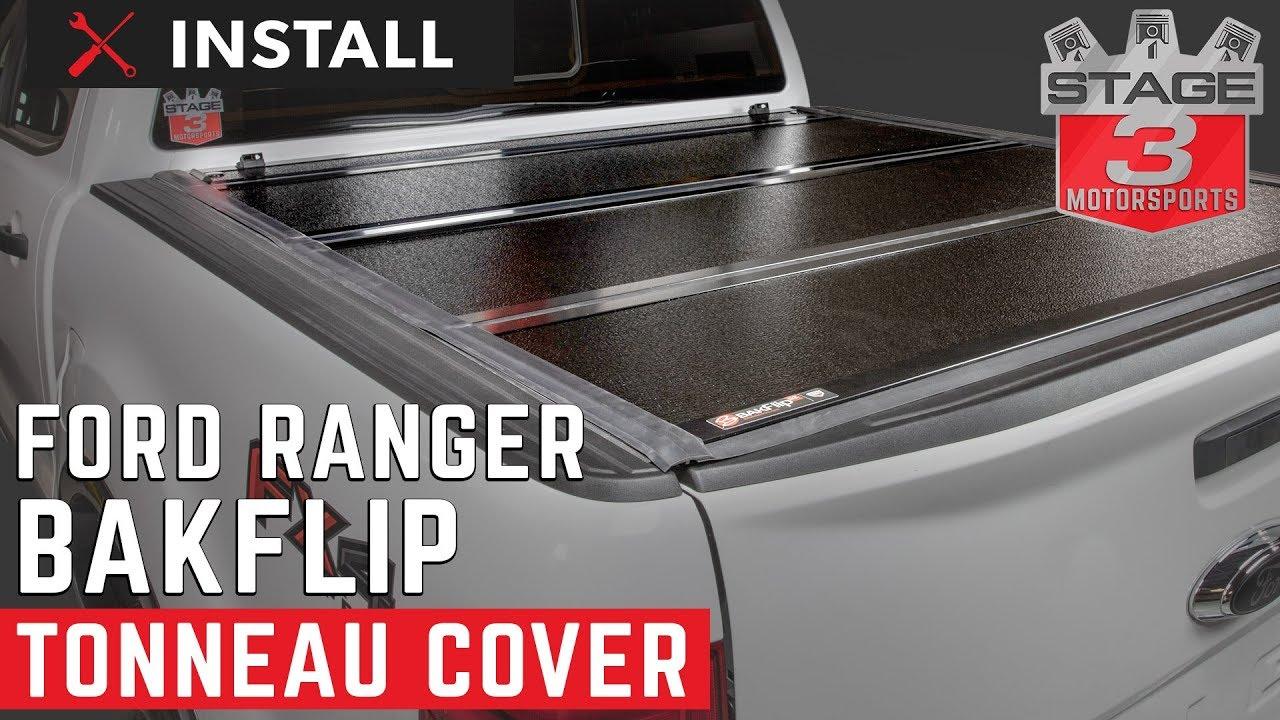 2019 Ford Ranger 5ft Bed Bak Tonneau Cover Installation Youtube