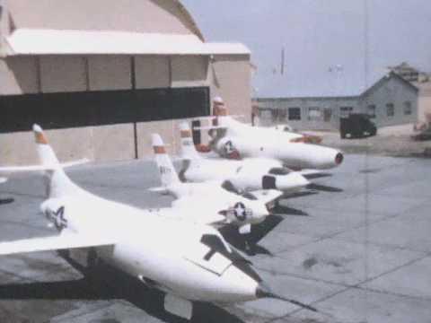 NACA Research Aircraft Behind Main Hangar at South Base