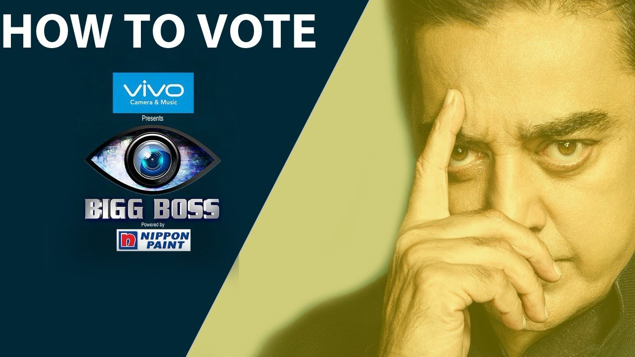 Bigg Boss - How to Vote Bigg Boss Tamil Online