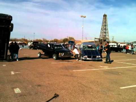 3 hoppers  in Odessa car show