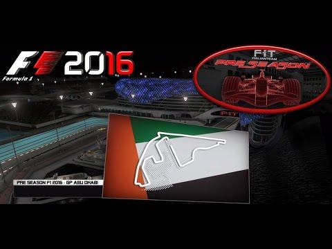Pre Season F1 2016 | GP Abu Dhabi (Yas Marina) 50% Lobby B 28.09.16 | Live Streaming 1080p HD