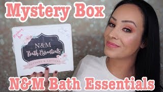 N&M Lotions and Potions mystery box unboxing
