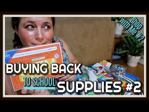 MASSIVE BACK TO SCHOOL SUPPLY SHOPPING **** OMG, TEACHERS YOU NEED TO SEE THESE DEALS*****